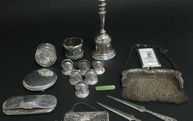 American, English & Continental Sterling Items