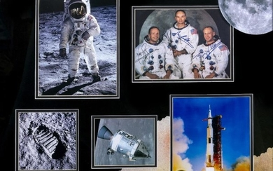 BUZZ ALDRIN, NEIL ARMSTRONG, MICHAEL COLLINS SIGNATURES to an...