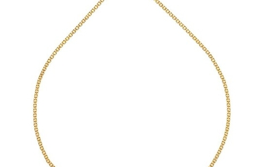 CHOKER WITH TOPAZ, AMETHYSTS AND DIAMONDS. 14K YELLOW GOLD