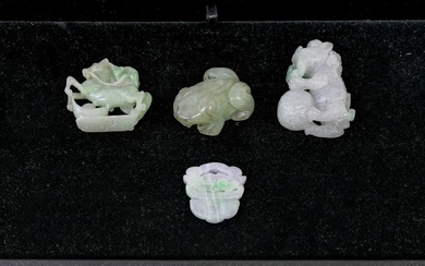 Carved Jade Pieces