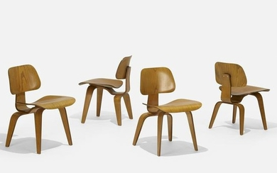 Charles and Ray Eames, DCWs, set of four