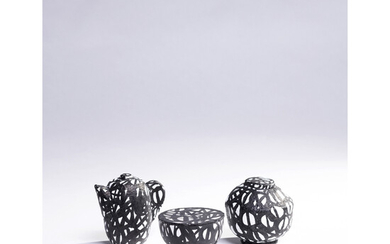 Christian Astuguevieille (born 1946) Set of three objects - Unique pieces