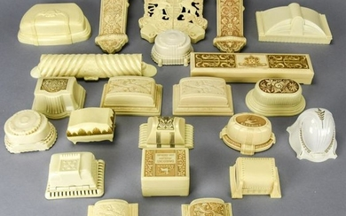 Collection Vintage Celluloid Figural Jewelry Boxes