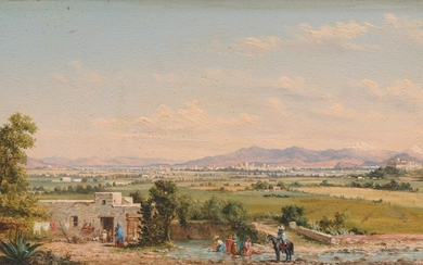 Conrad Wise Chapman (1842-1910), Mexico City