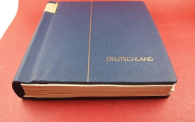 Federal Republic of Germany and Berlin - Collection Federal Republic of Germany and Berlin on Leuchtturm album pages