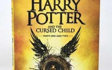 First Edition Harry Potter and the Cursed Child
