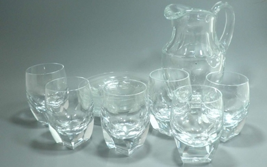 For People In the Know! Decorative Drinking Set made of Crystal Glass made by Moser