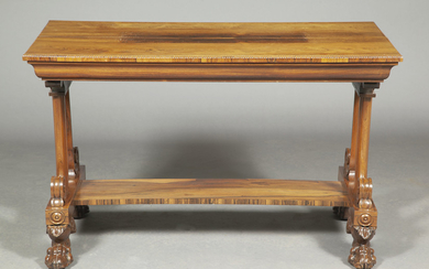 George IV Rosewood Center Table by T. & G. Seddon
