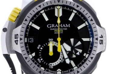 Graham - Chronofighter Prodive Professional Limited Edition of 200 Pieces - 2CDAV.B01A.K81F - Unisex - 2020