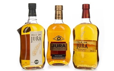ISLE OF JURA PROPHECY AND TWO 10 YEARS OLD