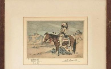 """Joseph Knowles, """"The Sentinel"""", Limited Edition"""