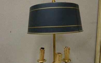 LAMP hot water bottle in bronze and painted...