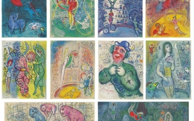 MARC CHAGALL   THE CIRCUS (M. 490-527; SEE C. BKS. 68)