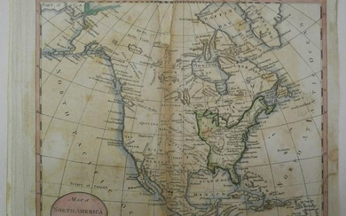 Map of North America Shewing All the New Discoveries.