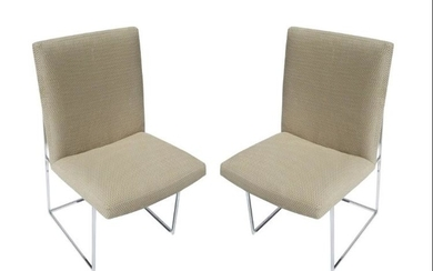 Milo Baughman for Thayer-Coggin Side Chair, Pair