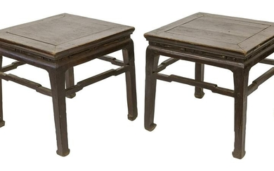 Pair of 19th Century Chinese Square Tables