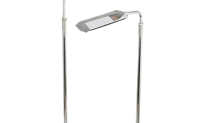 Pair of Koch and Lowy Pharmacy Floor Lamps