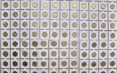 Poland - 2 Zloty 2004/2010 (120 different coins)- Nordic Gold