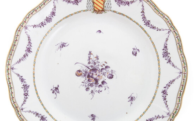 Rare Chinese Export Clerical Armorial Plate
