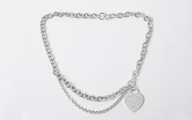 Return to Tiffany Necklace Silver - Necklace