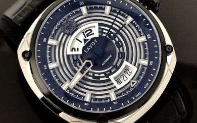 """Savoy - Epic Continuous Hour Limited Edition Automatic Swiss Made- """"NO RESERVE PRICE"""" F1703H.02D.RB01 - Men - 2011-present"""