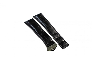 Tag Heuer Alligator Strap Band With Deployant Buckle