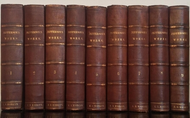 The Writings of Thomas Jefferson [edited by] Henry A. Washington