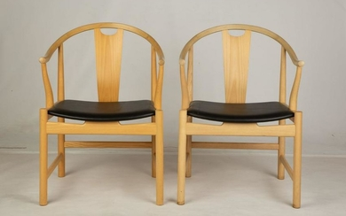 "Two Hans Wegner (Danish, 1914-2007), ""Chinese Chairs"""