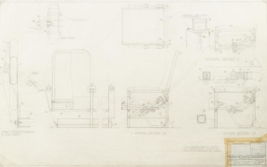 Untitled (Group of Six Mechanical Sketches)