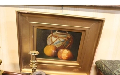 "Victorian School ""Still Life - Fruit"", a pair of Oils (7"" x..."