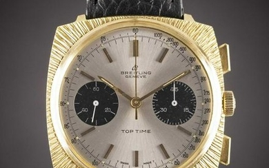 A GENTLEMAN'S GOLD PLATED BREITLING TOP TIME