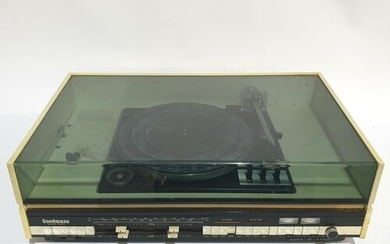 A Goodmans Module Ninety turntable record player, with built...
