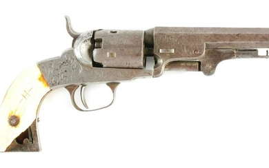 (A) MANHATTAN FIREARMS POCKET MODEL REVOLVER, SERIAL