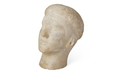 AFTER THE ANTIQUE (GREEK OR ITALIAN SCHOOL 18TH/19TH CENTURY, OR EARLIER) HEAD OF AN ATHLETE