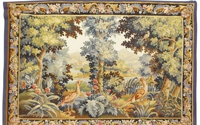 An Aubusson tapestry, late 19th century, depicting...