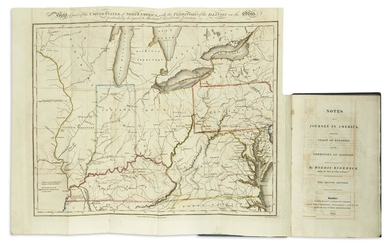 BIRKBECK, MORRIS. Notes on a Journey in America from the Coast of Virginia to the Territory of Illinois.