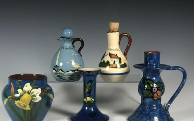 Collection of Five Torquay Pieces