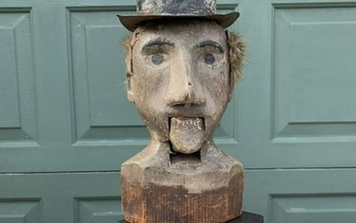 Early Ventriloquist Carving