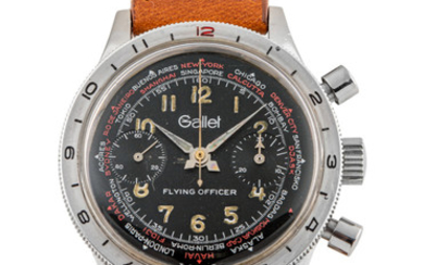 GALLET, FLYING OFFICER, CHRONOGRAPH