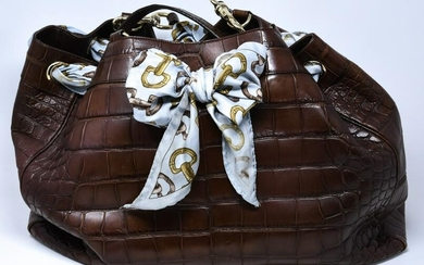 Special Order Gucci Alligator Purse Retail of $20,000