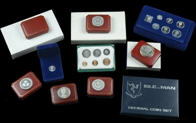 Isle of Man and Channel Isles Coins
