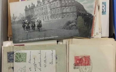 MOSTLY GB & COMMONWEALTH COVERS - Box file containing mainly...