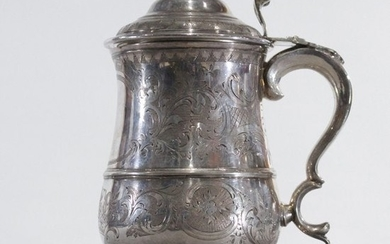 Mappin Brothers, England, Silver Plate Covered Stein