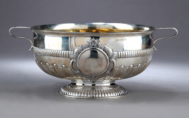 Mappin and Webb. Victorian sterling silver bowl, Sheffield, 1892