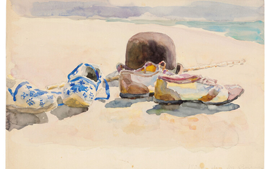 Maria Iakunchikova (1870-1902), Plage des Basques