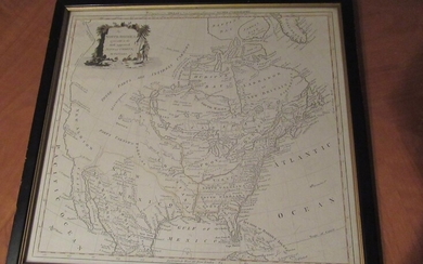 North America Agreeable to the Most Approved Maps and Charts By Thomas Conder, Engraved for Millar's New Complete Universal System of Geography