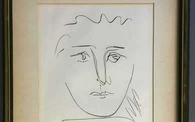 Pablo Picasso (after). Pour Robie. Etching.