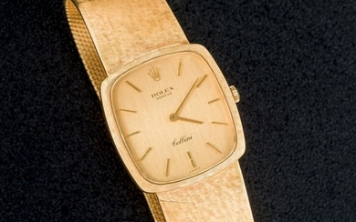 Rolex Cellini mens gold watch