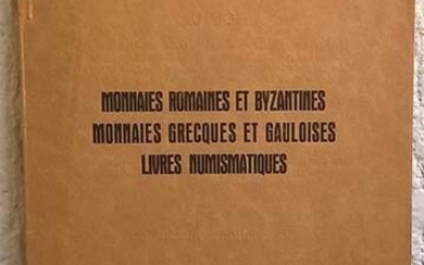 SCHULMAN Jacques. List Amsterdam, No. 78, Avril 1928. Monnaies romaines...