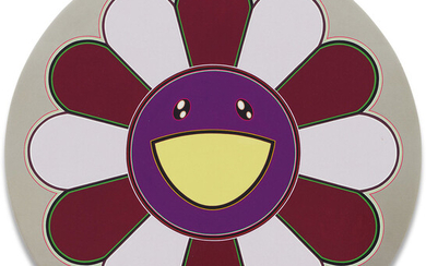 Takashi Murakami, Flower of Joy - Blackberry Madness